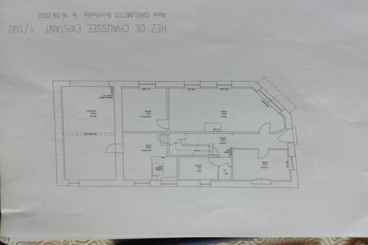 Maison immeuble 6 pièces Grandvillars – 2 niveaux, garage et comble