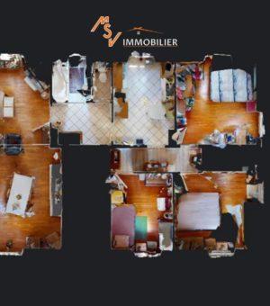 Appartement Danjoutin 89.04 m2