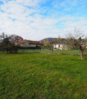 Giromagny plein centre ville : terrain de 537m2