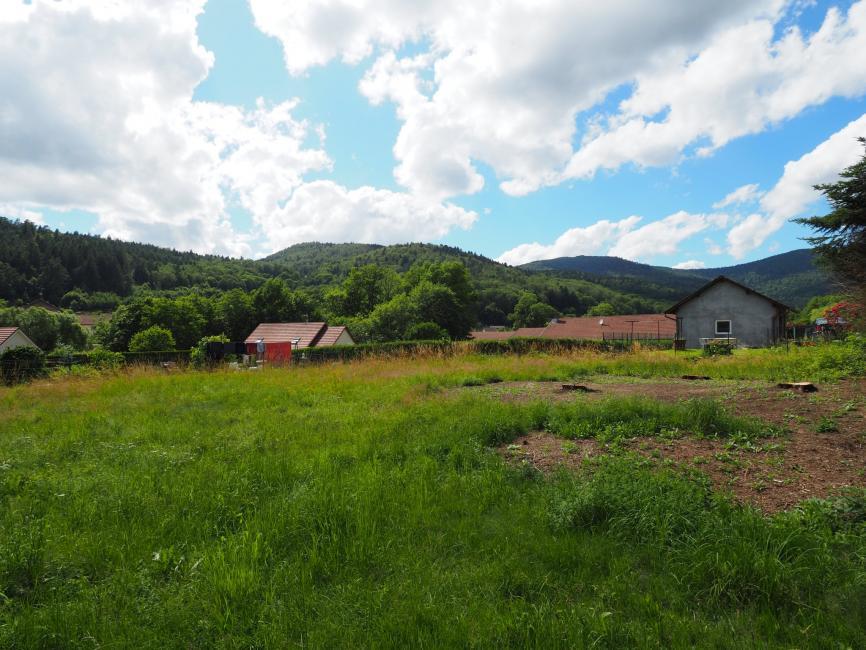Secteur GIROMAGNY – terrain plat de 630 m2 vue nature