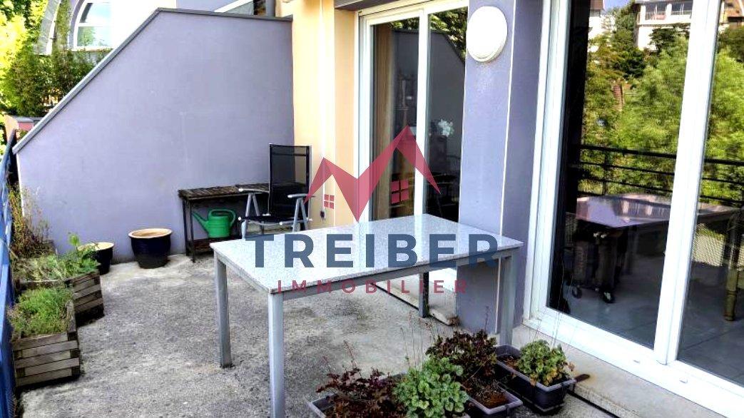 Appartement Duplex T4 Belfort proche du centre ville au calme, terrasse garage, parking.